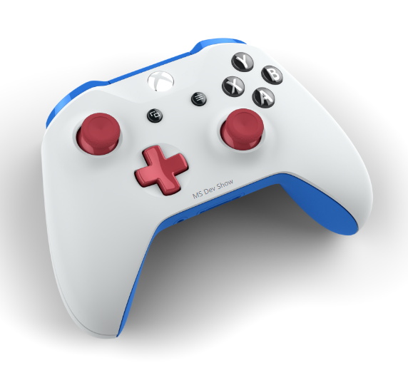 MS Dev Show Custom Controller!